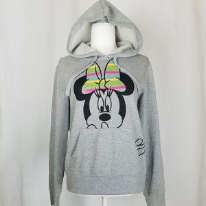 Disney Minnie Mouse Neon Rainbow Hoodie